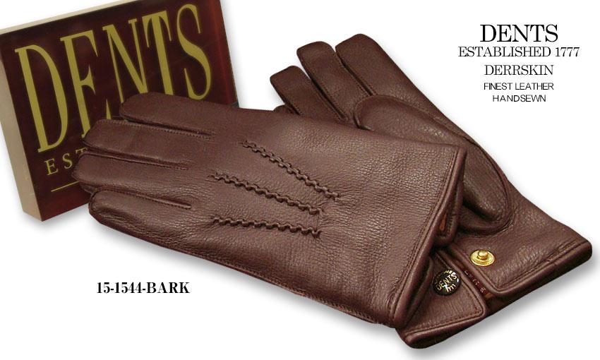 DENTS手袋 / デンツ手袋 DEERSKIN / ディアスキン ( 鹿革 ) [ BARK / バーク ] 15-1544BA