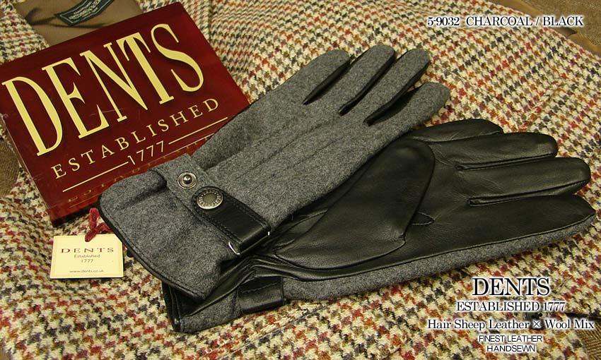 DENTS手袋/ デンツ手袋 HAIR SHEEP ブラック HAIR × WOOL ] MIX [ チャコール/ ブラック ] 5-9032 CH, ナカツムラ:8522c82c --- sunward.msk.ru