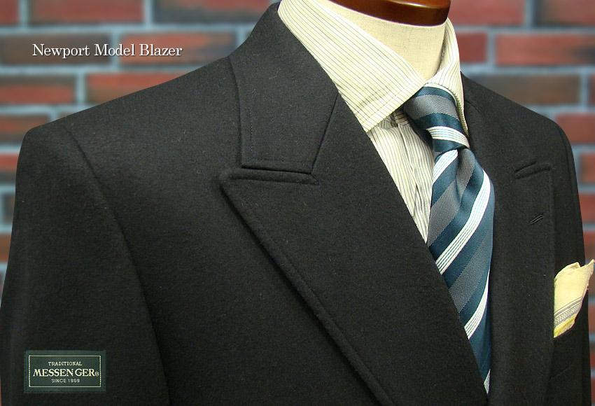 [秋冬] 復刻版ニューポートブレザー ダブルジャケット ( フラノ SUPER 100'S ) [ 10020#002/312 ]