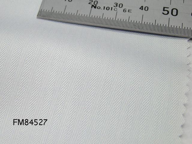 オリジナルオーダーシャツ●FM84527ほんのりグレー系地ミニヘリンボーン柄 100番手双糸 100%cotton