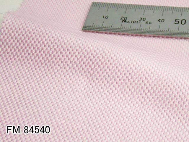 オリジナルオーダーシャツ●FM84540ピンク系無地バスケット織り 100番手双糸 100%cotton