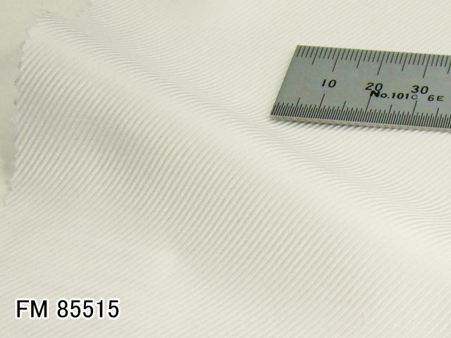 オリジナルオーダーシャツ●FM85515白フランス綾 120番手双糸 100%cotton