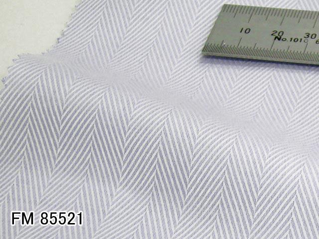 ●オーダーシャツ用多彩な仕様&オプションをご用意いたしております。サイズ・仕様をお選びいただきご注文ください。 オリジナルオーダーシャツ●FM85521サックスブルーヘリンボーン織り 120番手双糸 100%cotton