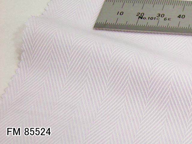 オリジナルオーダーシャツ●FM85524ラベンダー系 ヘリンボーン織り 120番手双糸 100%cotton