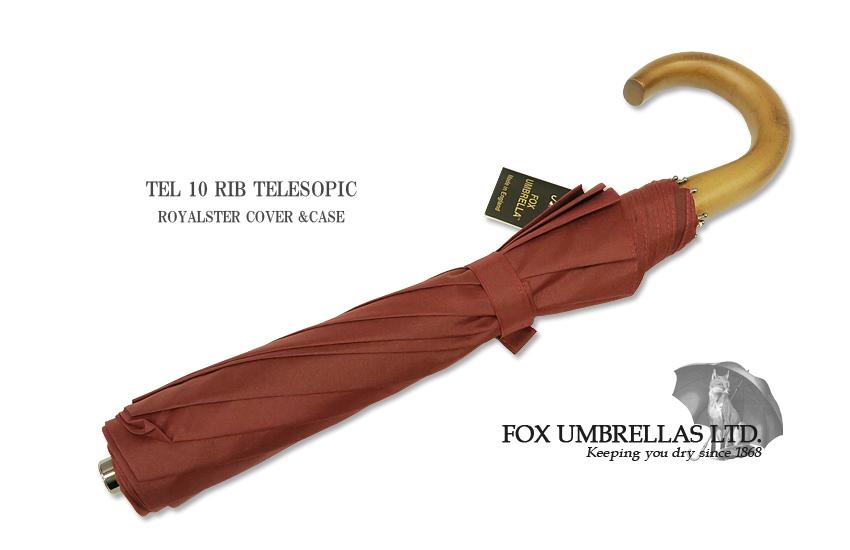 【 FOX UMBRELLAS / フォックス・アンブレラズ 】折りたたみ傘 ( メイプル / ワイン) FX-TL1-MC-0021