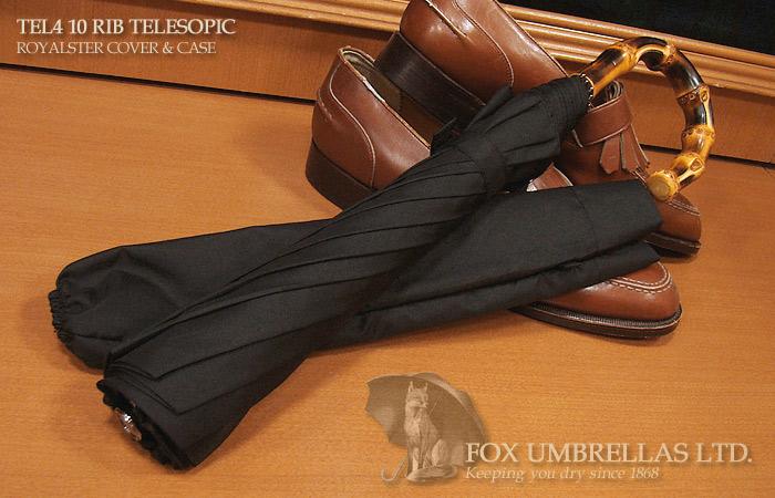 【 FOX UMBRELLAS / フォックス・アンブレラズ 】折りたたみ傘 ( ワンギー / 黒 )FX-TL4-WH-0001