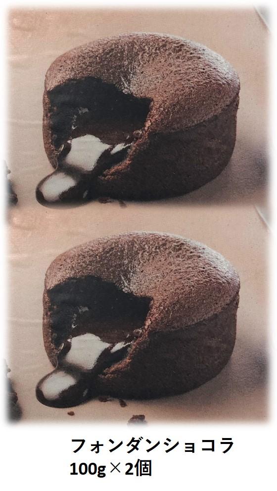 フォンダンショコラ フランス製 チョコレート 即納最大半額 冷凍 チョコケーキ バレンタインデー バレンタイン フランス産 新作 大人気 トレトールドパリ社 フォンダン ケーキ 本格派 自分へのご褒美 チョコ スィーツ デザート ショコラ 100g×2個 お菓子 激うま