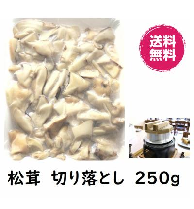 世界三大キノコ トリュフ 松茸 ポルチーニ茸 送料無料 世界三大きのこ 全品最安値に挑戦 松茸ご飯用 250g 冷凍 切り落とし 与え