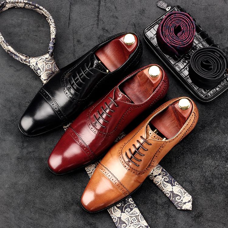 ビジネス シューズ メンズ 革靴 紳士靴 本革 牛革 送料無料 ブラック ワインレッド メンズ 結婚式 就職活動