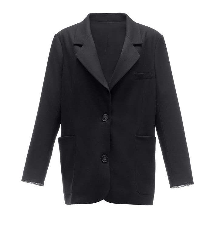 イギリス風無地純色 テーラードジャケット レディース アウター 秋春ジャケット OLスーツ 婦人ファション 注文後の変更キャンセル返品 市販 ビジネス フォーマルスーツ おーえるカジュアル ブレザー おしゃれ
