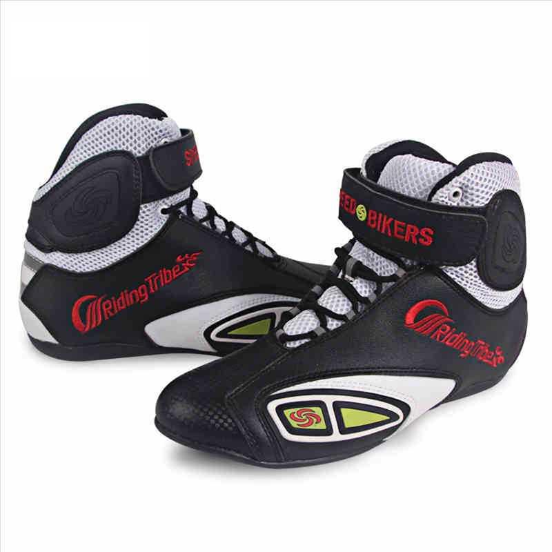 ショートブーツ バイクブーツ ライディングブーツ バイク用 シューズ Short Boots レーシングブーツ ライディングシューズ バイク用靴 バイクウエア 送料無料 ブラック
