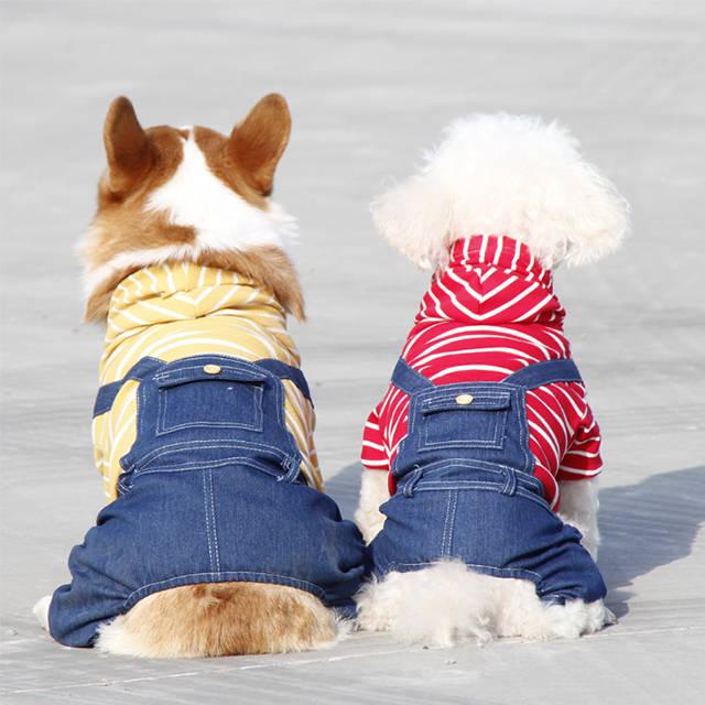 ペットグッズ ドッグウエア 小型犬 中型犬 散歩 お出かけ 旅行 本物 カバーオール ロンパース ドッグつなぎ パジャマ 抜け毛対策 かわいい ペット服 犬服 犬の服 普段着 超激安 春夏秋 ドッグウェア おしゃれ ルームウェア 部屋着
