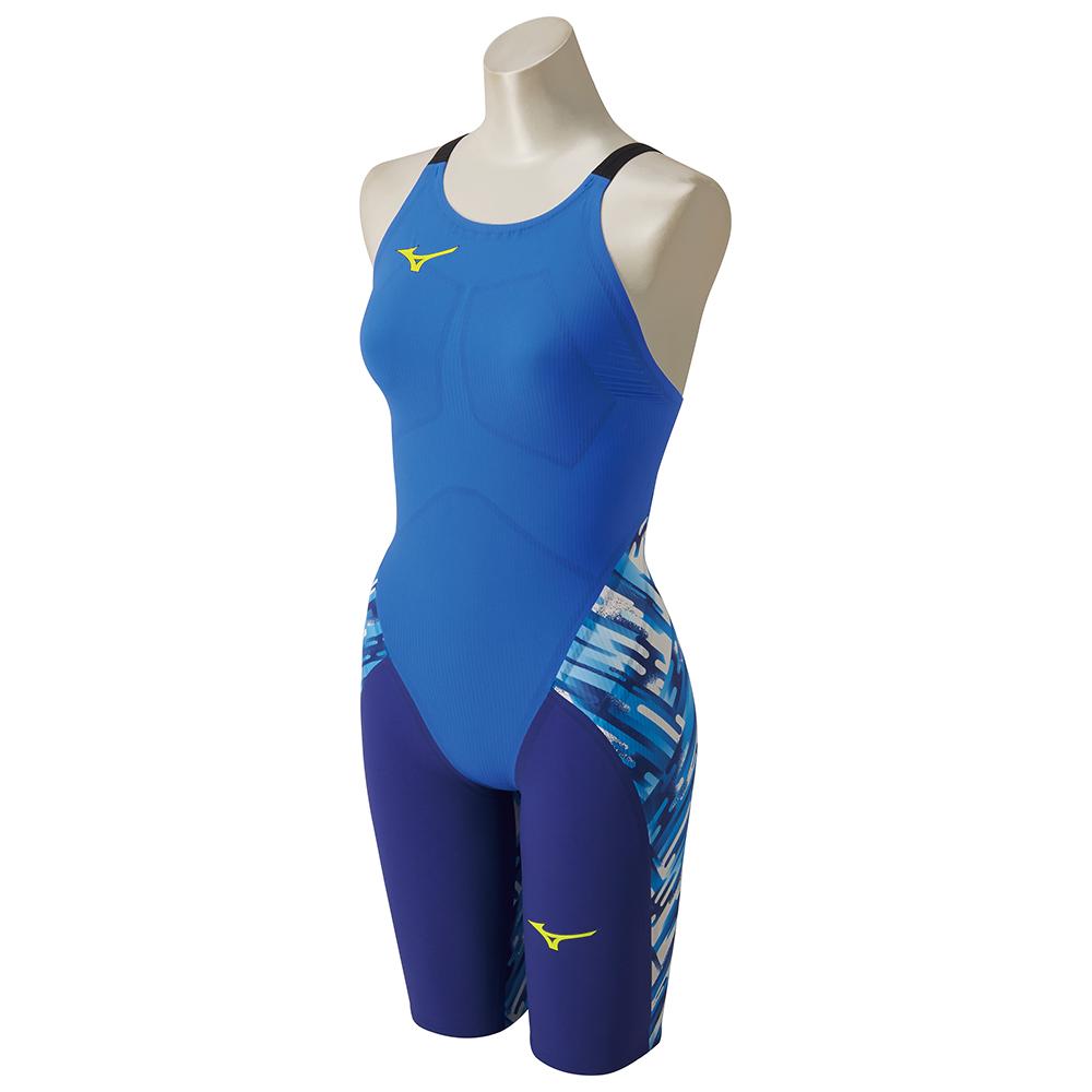 あす楽 ミズノ <レディース>ハーフスーツ GX-SONIC3 ST 日本選手権でも使用率トップ!! 水泳 水着 N2MG6201 27 XS M スポーツ・アウトドア 水泳 競技水着 レディース競技水着 送料無料