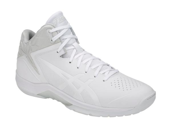 <アシックス> バスケットシューズ GELTRIFORCE 3 1061A004-100 WHITE/WHITE