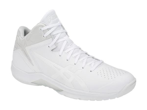<アシックス> バスケットシューズ GELTRIFORCE 3-narrow 1061A006-100 WHITE/WHITE