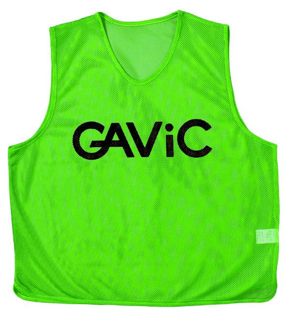 gavic サッカー フットサル TEAM ORDER ガビック ギフト 背番号付 10枚セット GRN ビブスセット ウェア GA9105 限定モデル