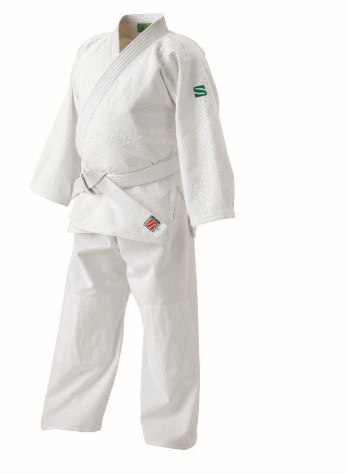 <九櫻> 大和錦 柔道 ビッグサイズ用大和錦柔道衣 上下セット JSY1L ホワイト