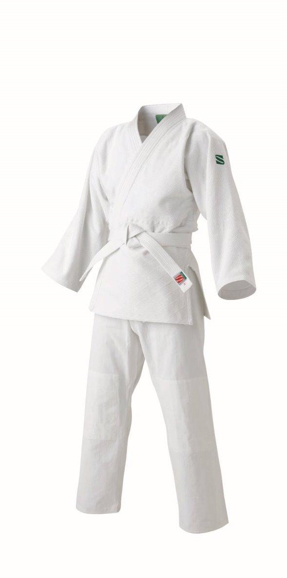 <九櫻> 大和錦 柔道 標準サイズ用大和錦柔道衣 上下セット JSYS1 ホワイト