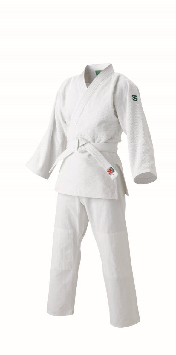 <九櫻> 大和錦 柔道 標準サイズ用大和錦柔道衣 上下セット JSYS2 ホワイト