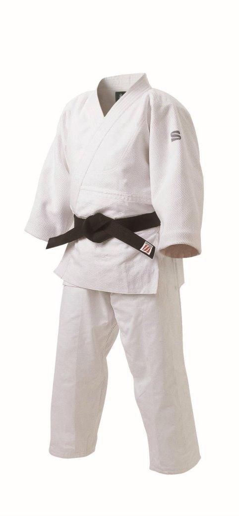 <九櫻> 先鋒 柔道 特製二重織柔道衣 上下セット JZ4Y ホワイト