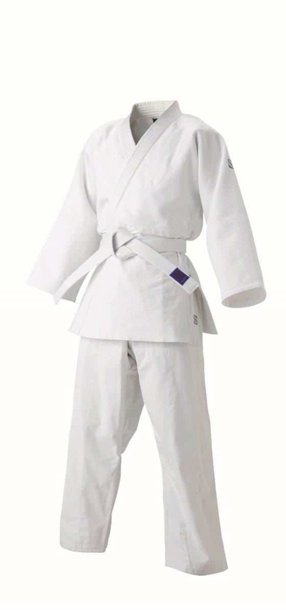 <九櫻> 先鋒 ジュニア 柔道 特製二重織柔道衣 上下セット JZJ15L ホワイト