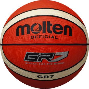 <モルテン> Basketball ボール・シャトル バレー・バスケ・ハンド GR7 BGR7-OI オレンジ×アイボリー