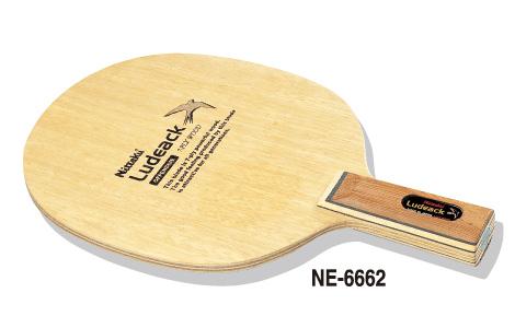 <日本卓球> ラケット スティク バット 卓球 ルデアックC NE-6662