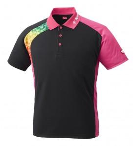 <日本卓球> ウェア 卓球 ブメランシャツ NW-2178 21 ピンク