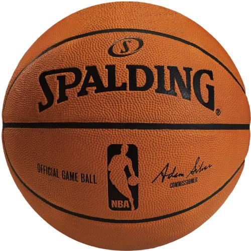 <スポルディング> Basketball ボール・シャトル バレー バスケ ハンド オフィシャルNBAゲームボール 74-569Z