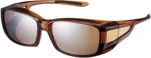 <スワンズ> Over Glasses アクセサリー ランニング・トラック OG-4 OG4-0765 BRCL クリアブラウン
