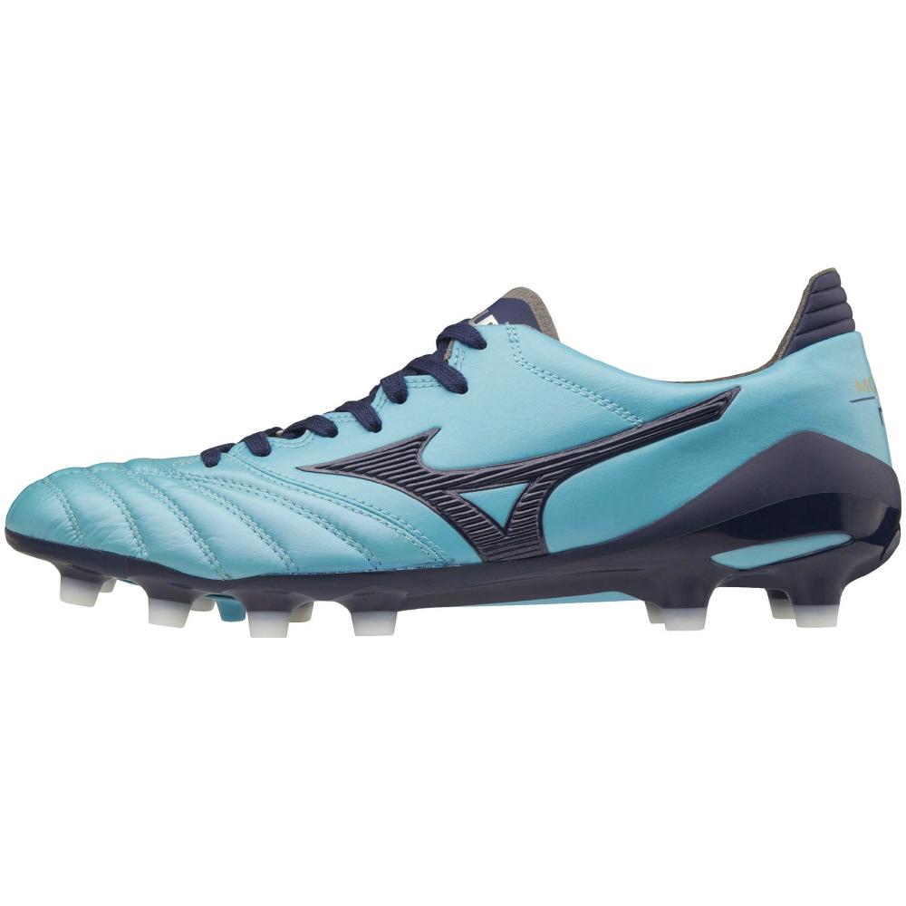 <ミズノ・MIZUNO>モレリアネオII サッカー スパイク シューズ P1GA1850 14 ブルー×ネイビー ユニセックス