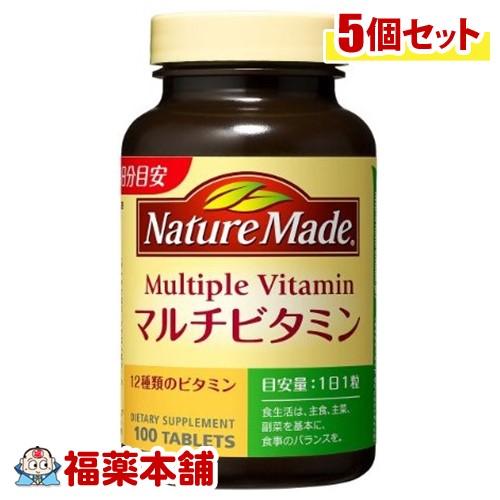 ネイチャーメイドマルチビタミン100粒×5個 [宅配便・送料無料] 「T60」