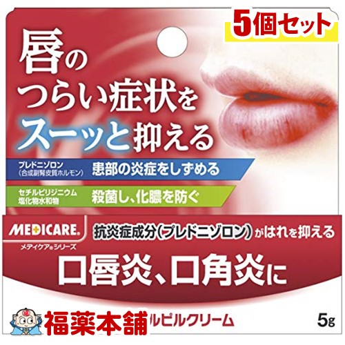 【第(2)類医薬品】メディケア デンタルピルクリーム(5g)×5個 [ゆうパケット送料無料] 「YP20」