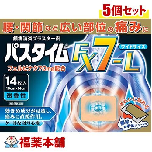 【第2類医薬品】☆パスタイムFX7-L(14枚入)×5個 [宅配便・送料無料]