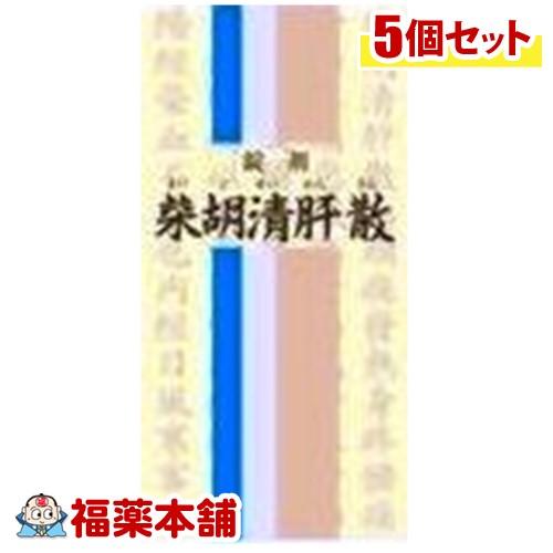 【第2類医薬品】一元 錠剤柴胡清肝散(350錠)×5個 [宅配便・送料無料] 「T60」