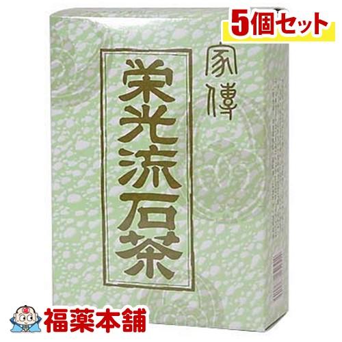 栄光流石茶(12gx12袋) [健康茶 お茶]×5個 [宅配便・送料無料] 「T100」