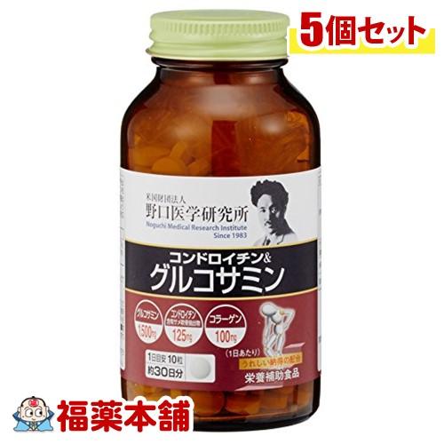 野口医学研究所 コンドロイチン&グルコサミン(300粒)×5個 [宅配便・送料無料] 「T60」