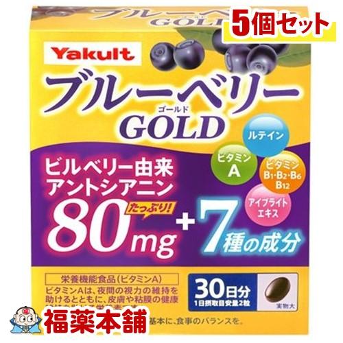 ブルーベリーゴールド(60粒)×5個 [宅配便・送料無料] 「T80」
