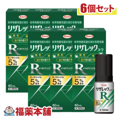【第1類医薬品】興和 リザレックコーワ 60ml×6個 [宅配便・送料無料]