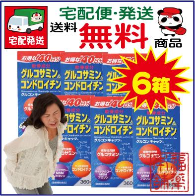 グルコンキャッツ(360粒×6箱) [宅配便・送料無料]