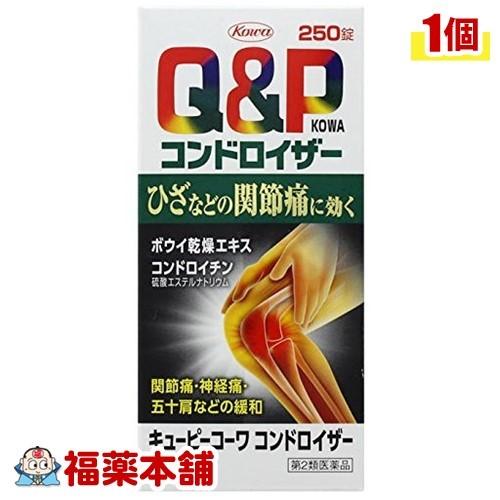 【第2類医薬品】キューピーコーワ コンドロイザー(250錠) [宅配便・送料無料] 「T60」