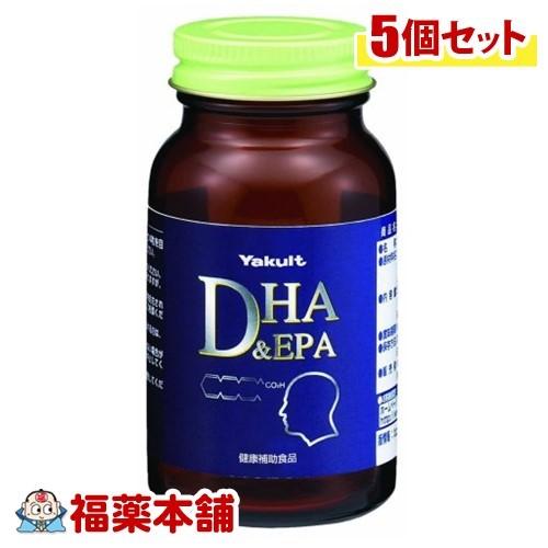 ヤクルト DHA&EPA(120粒入)×5個 [宅配便・送料無料] 「T60」