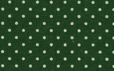 綿麻シーチングドット 流行のアイテム 売却 深緑