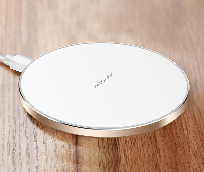 qiワイヤレス充電器 iPhone Galaxy Qi iphone8/X 充電器 ワイヤレス qi充電器 薄型 軽量 QI 急速充電ワイヤレス充電