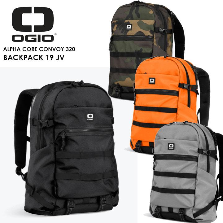 【2019モデル】OGIO ALPHA CORE CONVOY 320 BACKPACK オジオ バックパック CONVOY320 20P