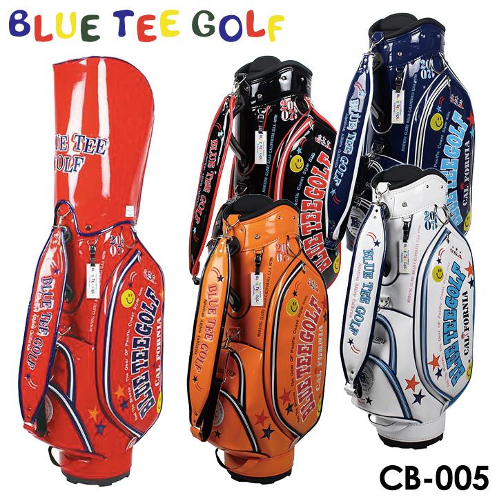 【2018モデル】ブルーティーゴルフ CB-005 エナメル キャディバッグ 9型 4.6kg 46インチ BLUE TEE GOLF
