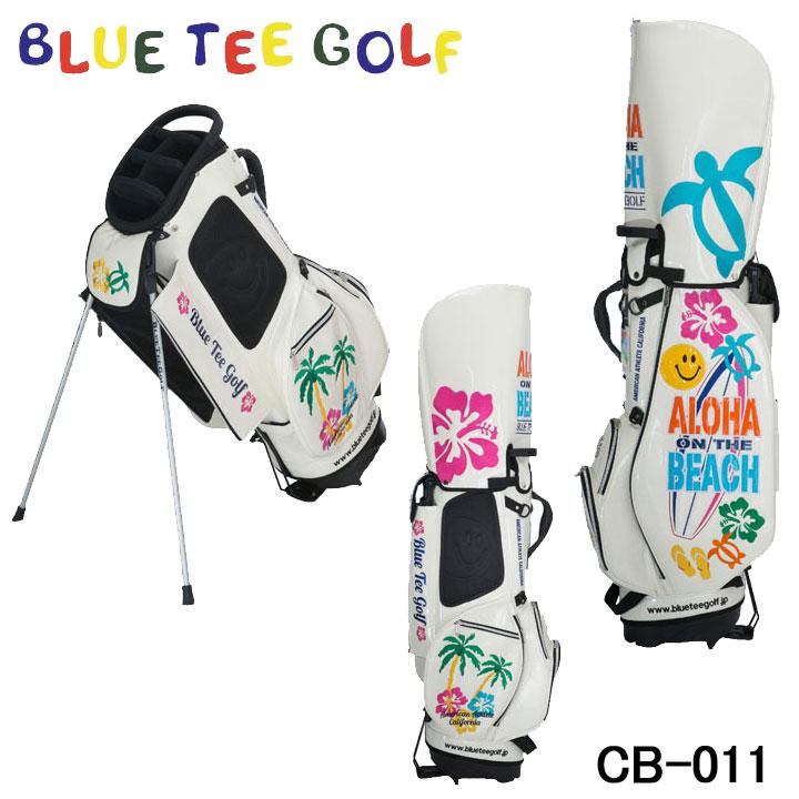 【2019モデル】ブルーティーゴルフ CB-011 アロハオンザビーチ スタンド キャディバッグ 9型 3.8kg 46インチ BLUE TEE GOLF ALOHA ON THE BEACH