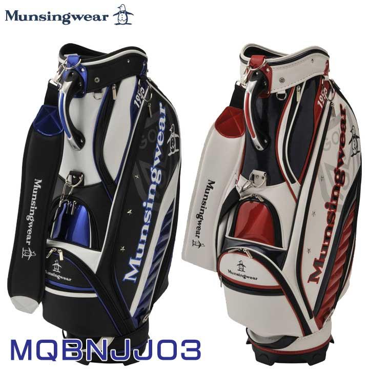 【2019モデル】マンシングウェア MQBNJJ03 キャディバッグ 9.5型 47インチ対応 Munsingwear