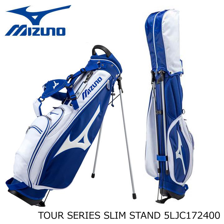 【2017モデル】ミズノ 5LJC172400 ツアーシリーズ スリム スタンド キャディバッグ 7.5型 2.2kg 47インチ対応 MIZUNO TOUR SERIES SLIM STAND