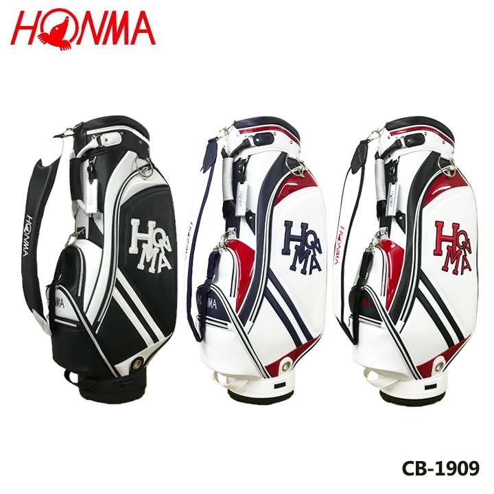 【2019モデル】本間ゴルフ CB-1909 スポーツモデルキャディバッグ Dancing HONMA CB1909 特価